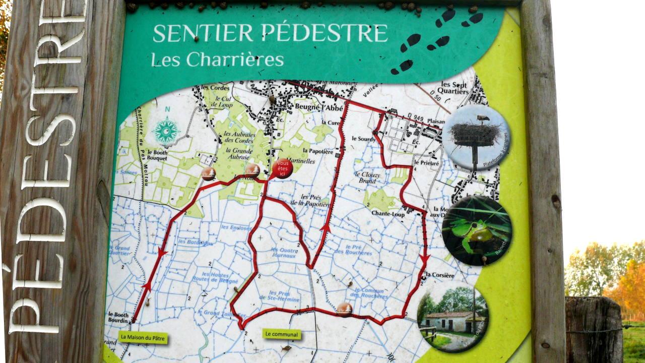 Randonnée à Beugné-L′Abbé 15-10-2017