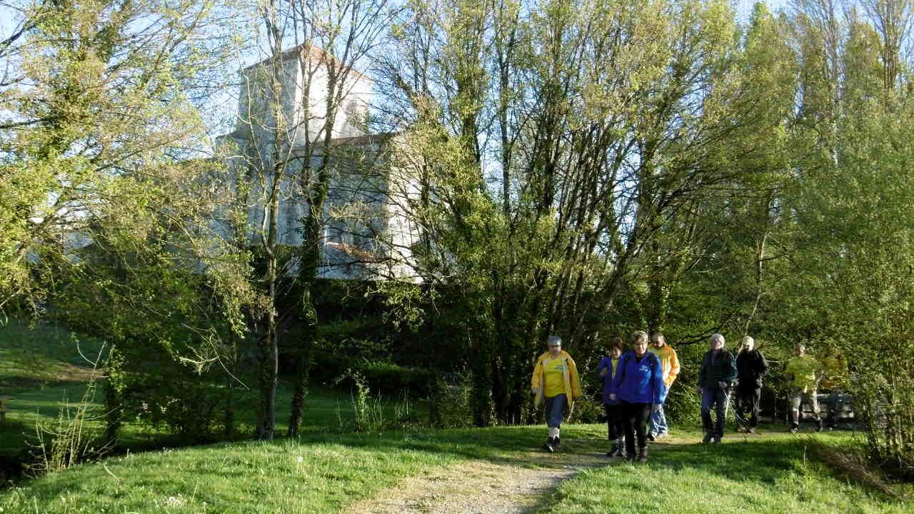 Randonnée St Martin L′Ars 09-04-2017