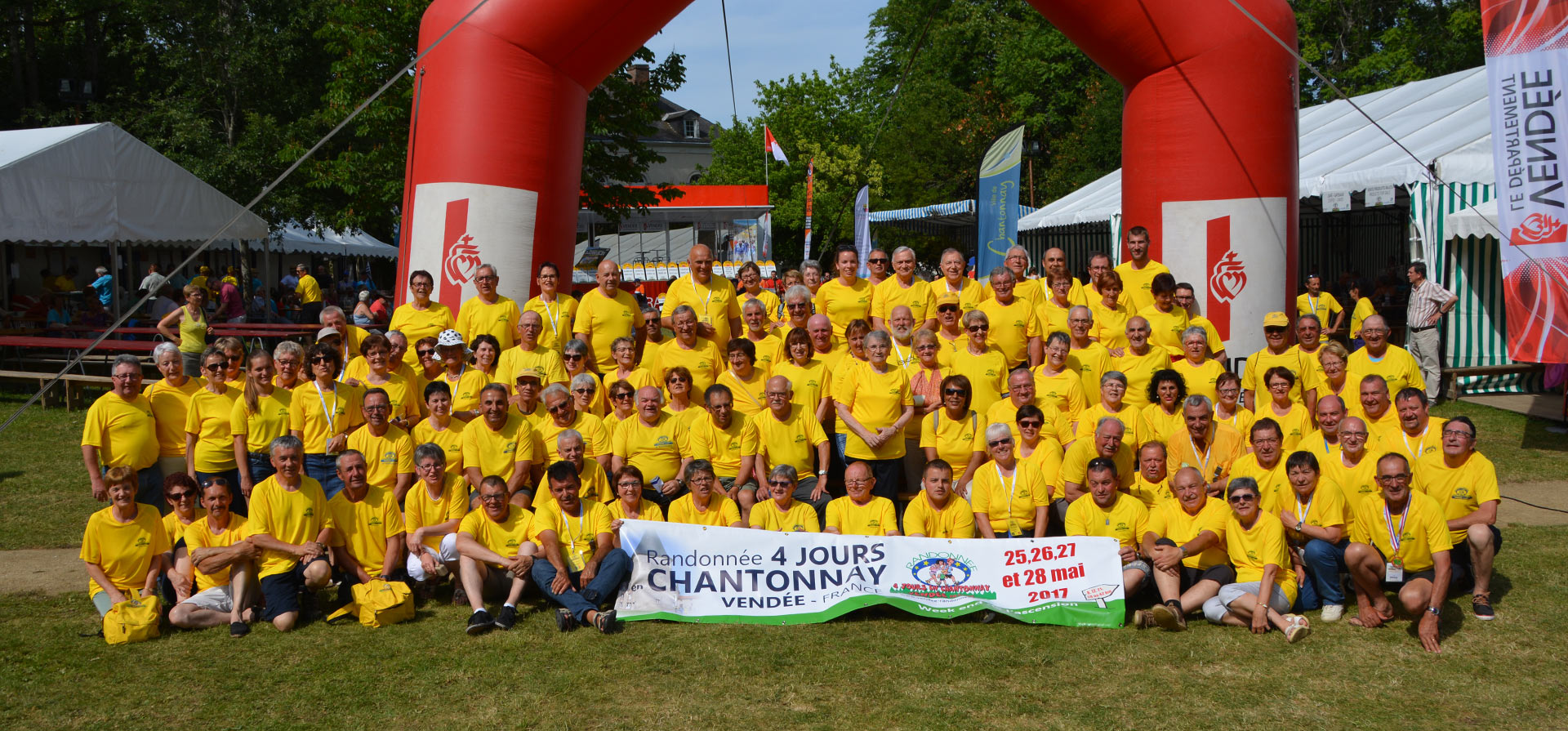 Bénévoles des randonnées 4 jours à Chantonnay